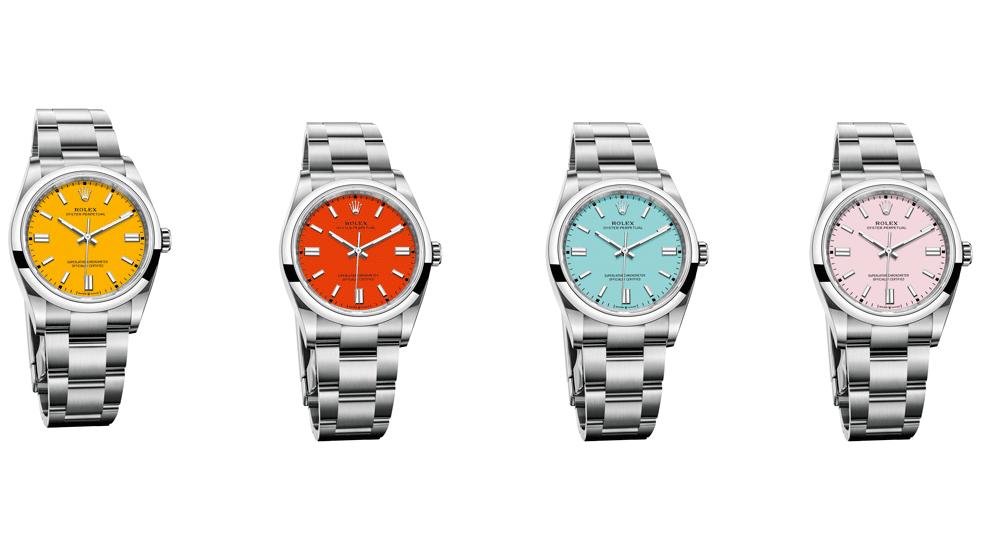 劳力士(Rolex)刚刚投放了2020年的新款潜水艇和其他新手表