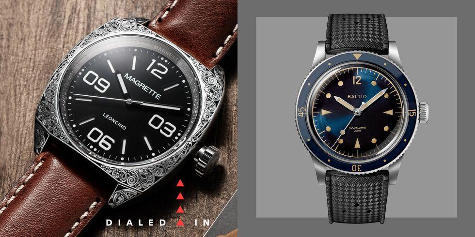 9个最佳男士微手表品牌,男士手表不二之选!